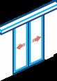 درب اتوماتیک کشویی ساده اسلایدینگ automatic sliding door