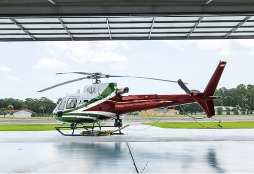 آشیانه هواپیما و هلیکوپتر