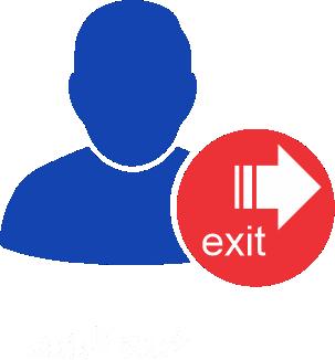 exit user 1