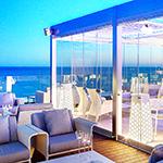 شیشه هتل و رستوران