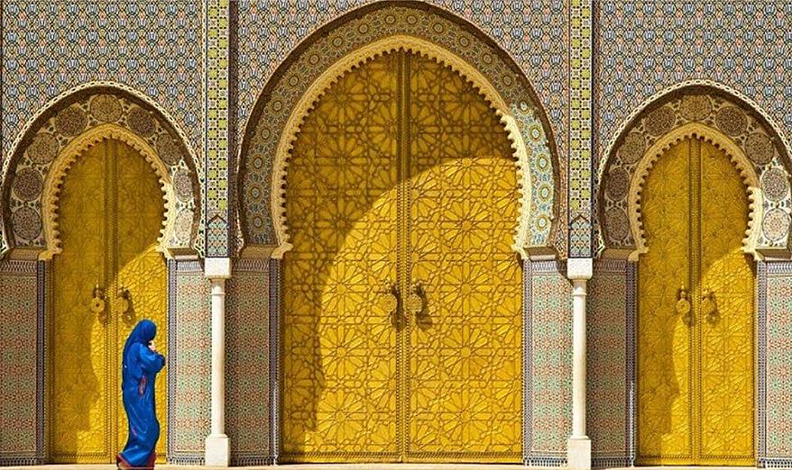 درب کاخ سلطنتی مراکش -