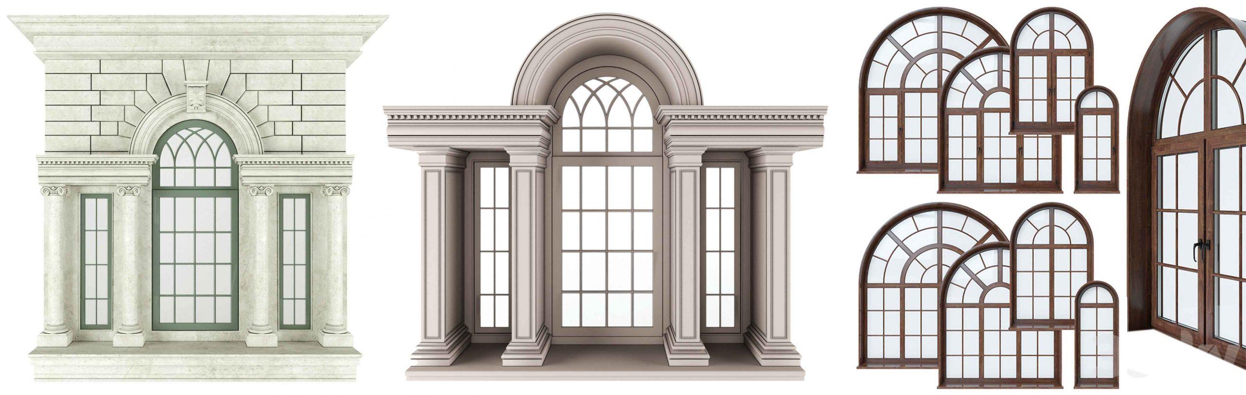 درب و پنجره هلالی